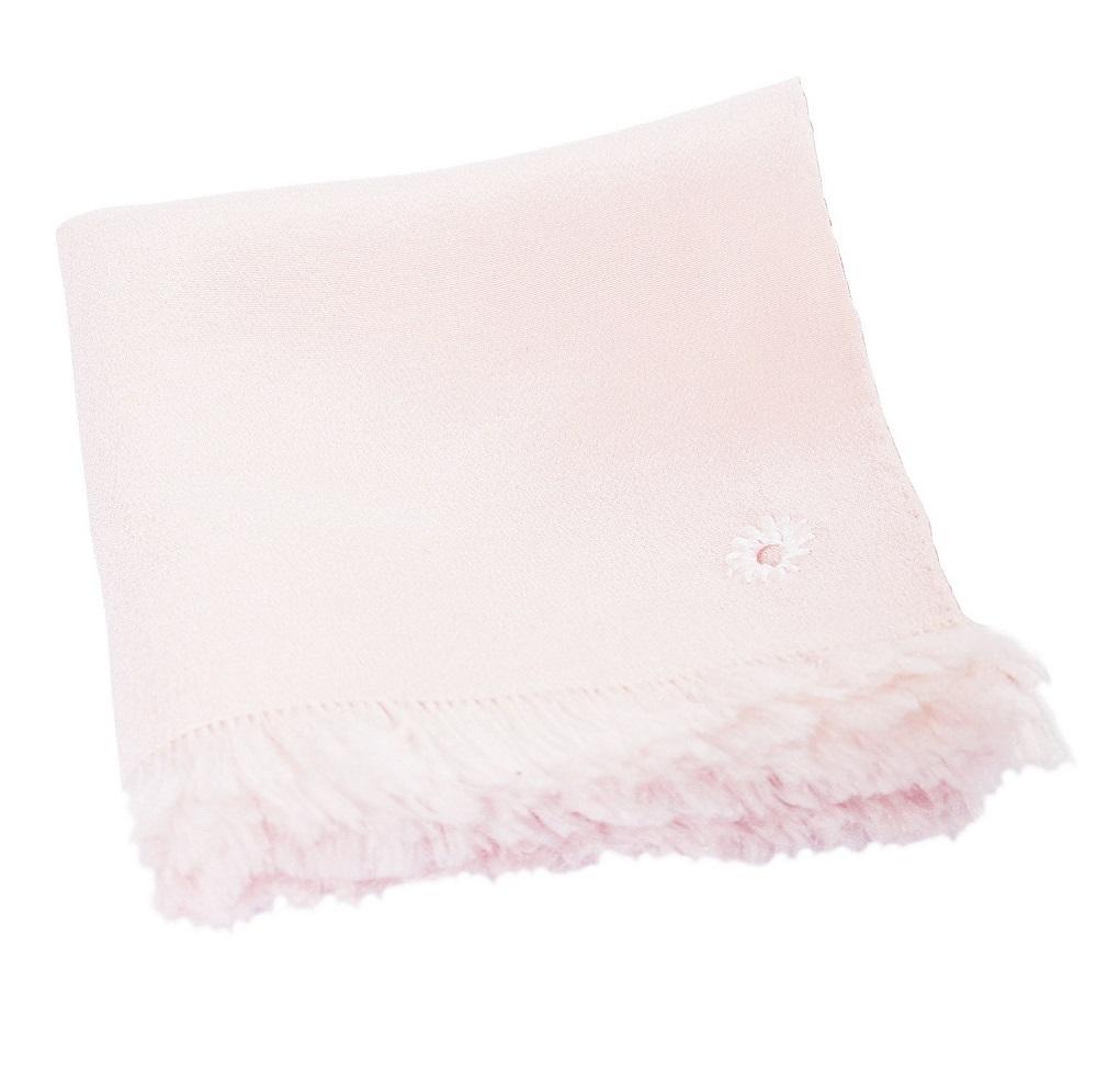 Pocket Square - Blush - Hand-frey (1x1)